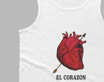 El Corazon Men's Loteria Tank Top