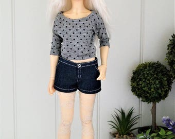 Sweater for bjd slim MSD Minifee