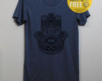 Hamsa Hand Shirt Hand of Fatima Shirt Hand of God Hand of Hamsa Shirt TShirt T Shirt Tee Shirts