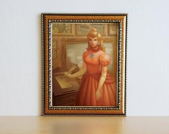 Princess Peach Poster Print