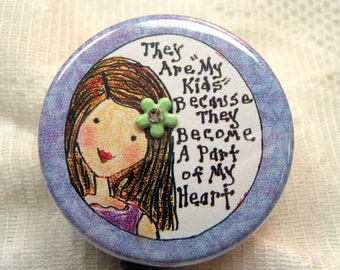 lavender id badge reel,gift for teacher,retractable id badge holder for teacher/coach/MSW,cute badge reel for woman,id badge pull