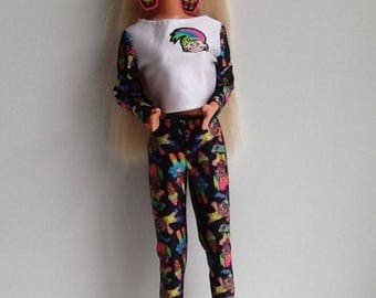 1992 TROLL Barbie Doll