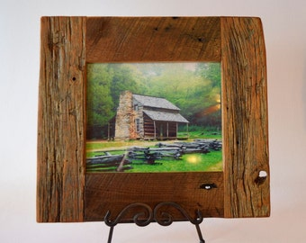 Reclaimed 8x10 Chestnut Picture Frame
