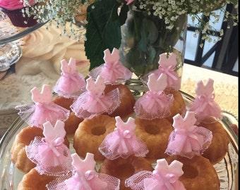 Tutus Cupcakes, Princess Birthday, Princess Centerpiece, Ballerina Tutus Birthday, Pink Ballet Tutu, Princess Tutus Favor, Tutus Dress Picks