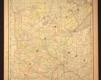Madison Lake Mn Map  Etsy