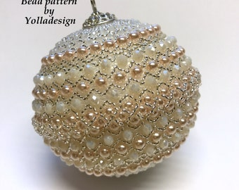 Christmas Ornament - Bead Pattern by Yolladesign