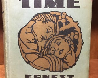 In Our Time by Ernest Hemingway, Scribner's 1930 w Original Dust Jacket, HCDJ Rare Scarce Collectible