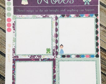 For use with Erin Condren Notes Page - Tiana Notes Page - Goal Stickers
