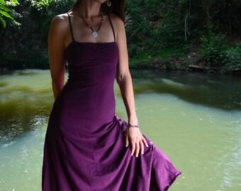 Ishtar Dress,  Pixie Dress, Long Elegant Dress, Elven Dress, Faerie Dress, Princess Dress, Bohemian Dress, Gift for her, Festival Dress