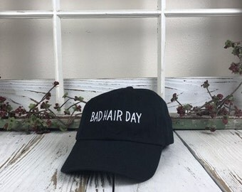 bad hair day baseball hat embroidered baseball caps hipster