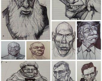 Original Sketch / Custom Commission