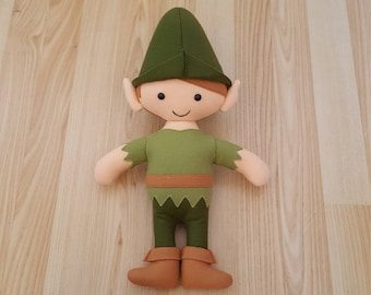 Peter Pan Plushy pattern in PDF format