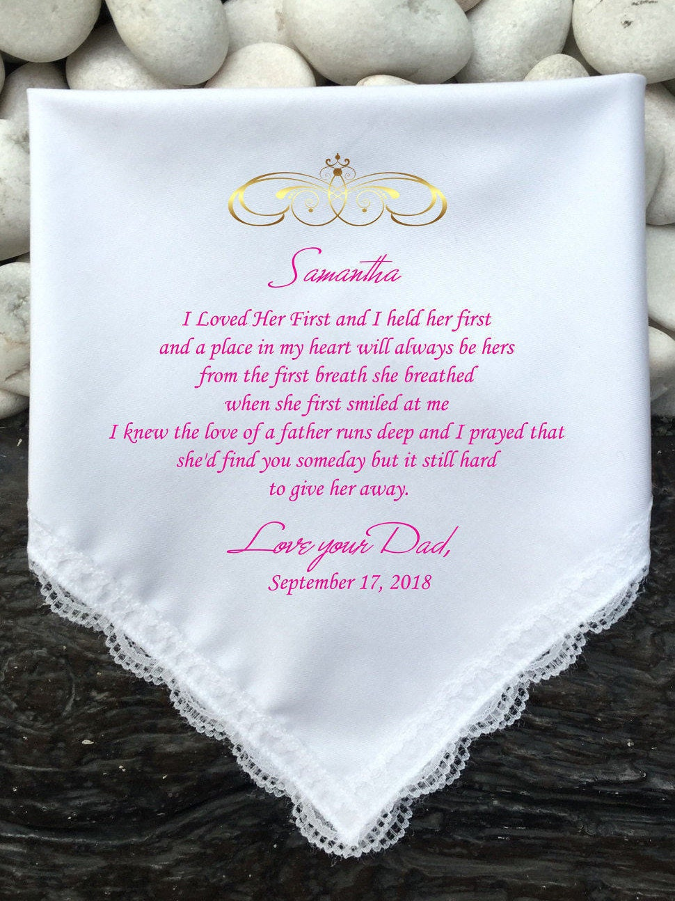 Gift For Daughter On Her Wedding Day From Father : To My Daughter Gift On Her Wedding Day Gift From Father Of
