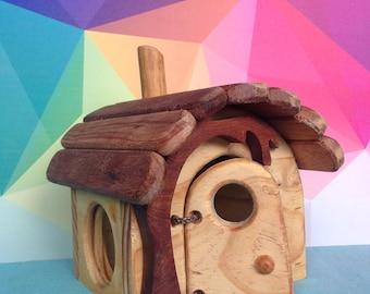 Gnome Home, Timber toys, Handmade