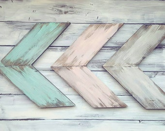 Rustic Arrows | Wooden Arrows | Farmhouse Decor | Nursery Decor | Farmhouse Arrows |  Rustic Arrows | Set of Arrows | Distressed | Arrow