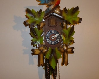 Colorful German made Cuckoo clock