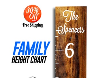 Home & Living.Ruler measuring.stick height chart.Growth Chart Wood.Wooden Rustic.Children kids height chart.growth (Custom Height Chart)