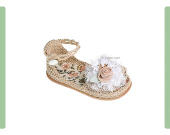 Kids sandals Knitted shoes First steps sandals Baby girl shoes Princess shoes crown baby baptism shoes size 2 3 4  US EU Kids shoes 18067306