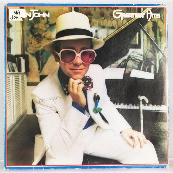 Elton John - Greatest Hits Album MCA Records 1974 Original Vintage Vinyl Record