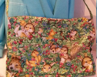 Children's Animal Messenger Bag