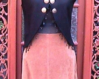 Size M/L Vintage Western Vest (Skirt sold separately)