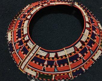 Traditional Samburu collar