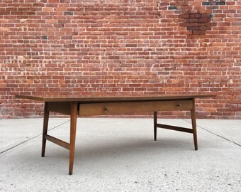 Paul McCobb | Planner Group Coffee Table w/ Drawer | Mid Century