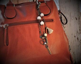 My favorite Seamstress purse charm