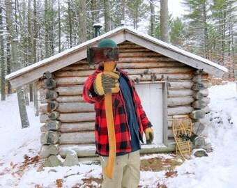 Vintage Camp Axe. Bushcraft Axe. Boy's Axe or Small Forest Axe Size.