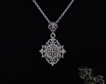 "Necklace ""Sanctus"" - Medieval, celtic, viking, elven, fantasy"