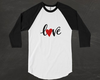 valentines day shirt women love raglan womens valentines day shirt plus size