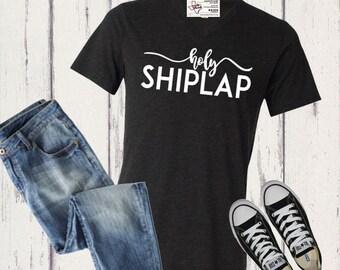 Holy Shiplap Tee | Shiplap T-shirt | Farmhouse T-shirt | Holy Shiplap Shirt