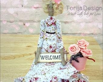 Tilda doll handmade,textile doll