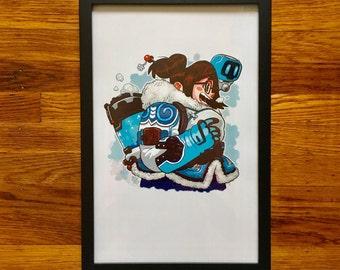 A-Mei-Zing - Print