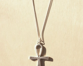 Ankh Charm Necklace