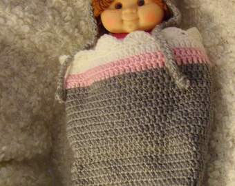 Sock Monkey Cocoon and Hat