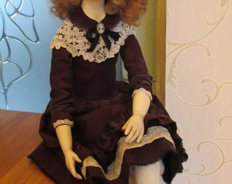 "OOAK artist doll ""Millie"""