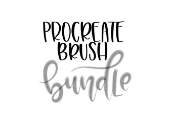 Procreate Brush Bundle - Dull Pencil Brush - Dull Crayon Brush - Sharp Crayon Brush - Dry Brush