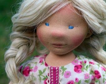 Blanka, waldorf inspired doll