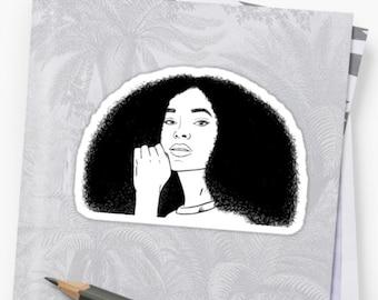 Solange Sticker