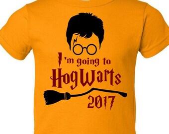 Harry Potter Shirt || I'm Going to Hogwarts | Harry potter shirt Hogwarts gryffindor shirt muggle shirt muggle bodysuit gryffindor outfit
