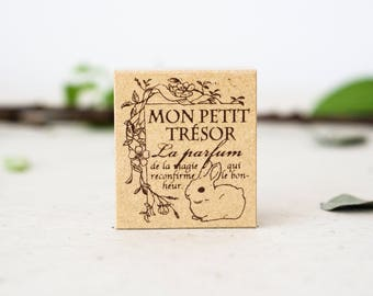 NEW My Little Treasure Rubber Stamp