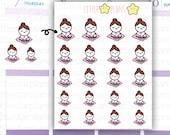 Mimi - Yoga, Relax, Mediation Planner Stickers