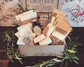 Deluxe Bath Spa Kit, Bath Gift Set,Herbal Bath Box, Beauty Bath,