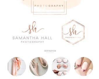 Branding Kit/ branding package/ Logo design/ Watercolor logo design/ Business logo design/ branding/ photography logo/ premade logo/ wedding