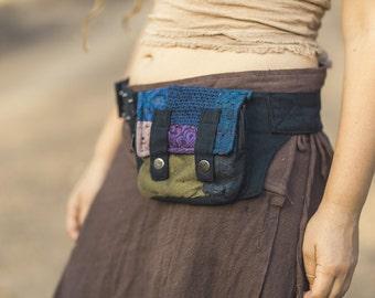 Patchwork Pocket Belt