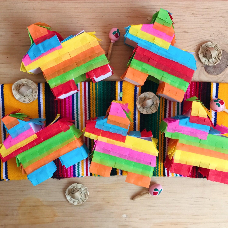 Fiesta Table Decorations Mini Piata Etsy