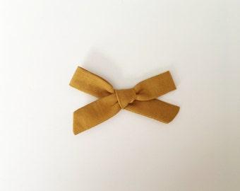 Gold // Single Headband of Clip
