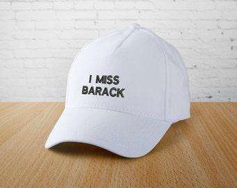 Obama Hat I Miss Barack Cap Barack Obama Cap Fall 2017 Tumblr caps Custom trucker hat Tumblr cap Autumn season Cool cap Ball cap YPp008