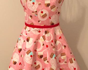 Pink Cupcakes Apron